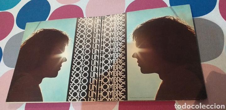 Discos de vinilo: FUNDA LP VINILO CAMILO SESTO SOLO UN HOMBRE - Foto 2 - 194061543