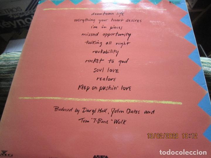 Discos de vinilo: DARY HALL JOHN OATES - OOH YEAH LP - ORIGINAL ESPAÑOL - ARISTA RECORDS 1988 CON FUNDA INT. ORIGINAL - Foto 7 - 194061566