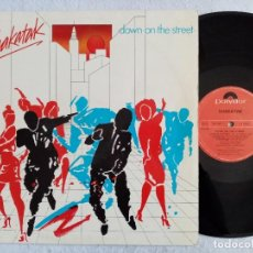 Discos de vinilo: SHAKATAK - DOWN ON THE STREET - LP 1984 - POLYDOR. Lote 194062021