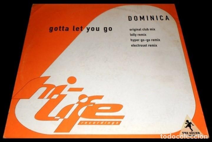 DOMINICA. GOTTA LET YOU GO. EP VINILO (Música - Discos de Vinilo - EPs - Disco y Dance)
