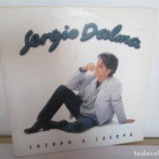 Discos de vinilo: SERGIO DALMA. CUERPO A CUERPO. LP VINILO. POLIGRAM 1995. VER FOTOGRAFIAS ADJUNTAS. Lote 194066421