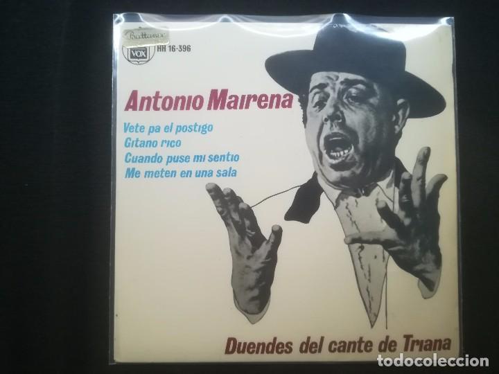 ANTONIO MAIRENA - DUENDES DEL CANTE DE TRIANA (Música - Discos - Singles Vinilo - Flamenco, Canción española y Cuplé)