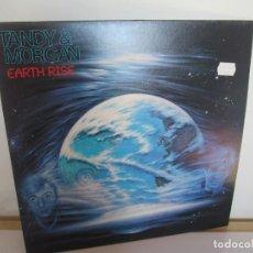 Discos de vinilo: TANDY & MORGAN. EARTH RISE. LP VINILO. 1986 FM RELEASE. VER FOTOGRAFIAS ADJUNTAS. Lote 194067173