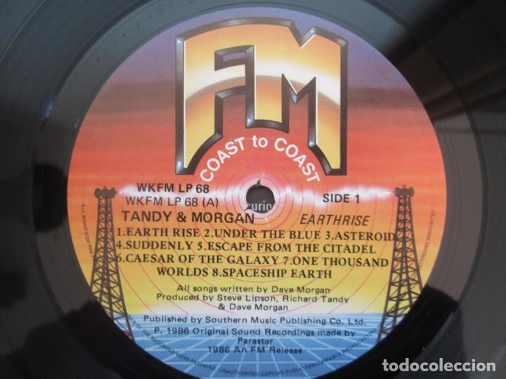 Discos de vinilo: TANDY & MORGAN. EARTH RISE. LP VINILO. 1986 FM RELEASE. VER FOTOGRAFIAS ADJUNTAS - Foto 6 - 194067173