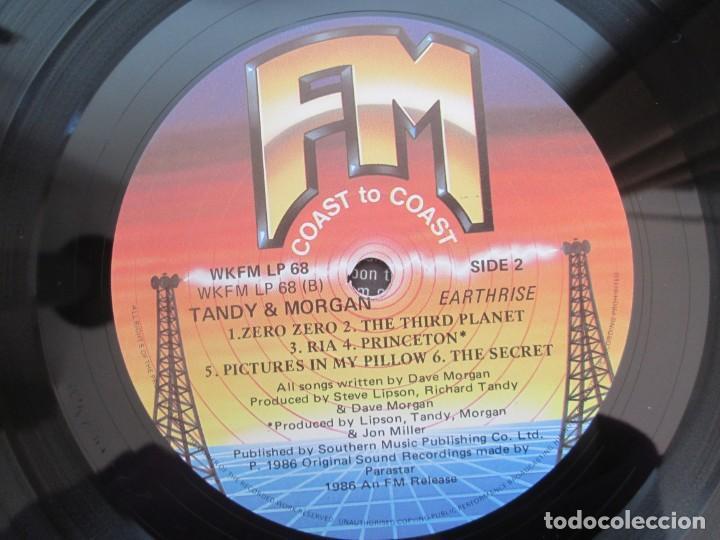 Discos de vinilo: TANDY & MORGAN. EARTH RISE. LP VINILO. 1986 FM RELEASE. VER FOTOGRAFIAS ADJUNTAS - Foto 8 - 194067173