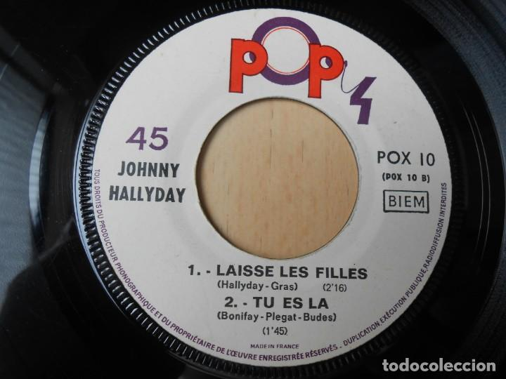 Discos de vinilo: JOHNNY HALLYDAY, EP, SOUVENIRS, SOUVENIRS + 3, AÑO 19??. MADE IN FRANCE - Foto 4 - 194068318