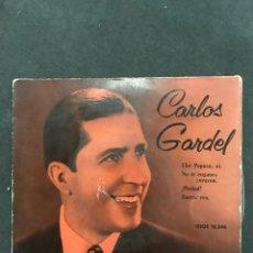 Discos de vinilo: CARLOS GARDEL SINGLE EP DE 1958. Lote 194070247