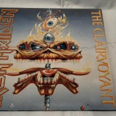 Discos de vinilo: IRON MAIDEN -THE CLAIRVOYANT- (1988) SINGLE 12. Lote 194070340
