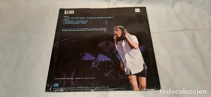 Discos de vinilo: AC/DC -THATS THE WAY I WANNA ROCK N ROLL- (1988) MAXI-SINGLE - Foto 6 - 194072941