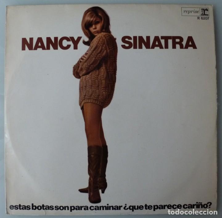NANCY SINATRA - ESTAS BOTAS SON PARA CAMINAR (LP REPRISE-HISPAVOX 1966 ESPAÑA) (Música - Discos - LP Vinilo - Pop - Rock Extranjero de los 50 y 60)