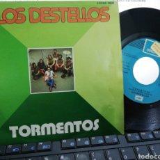 Discos de vinilo: LOS DESTELLOS SINGLE TORMENTOS ESPAÑA 1975. Lote 194073850