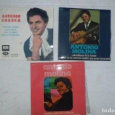 Discos de vinilo: LOTE DE DISCOS DE ANTONIO MOLINA, AÑOS 60. Lote 194085722