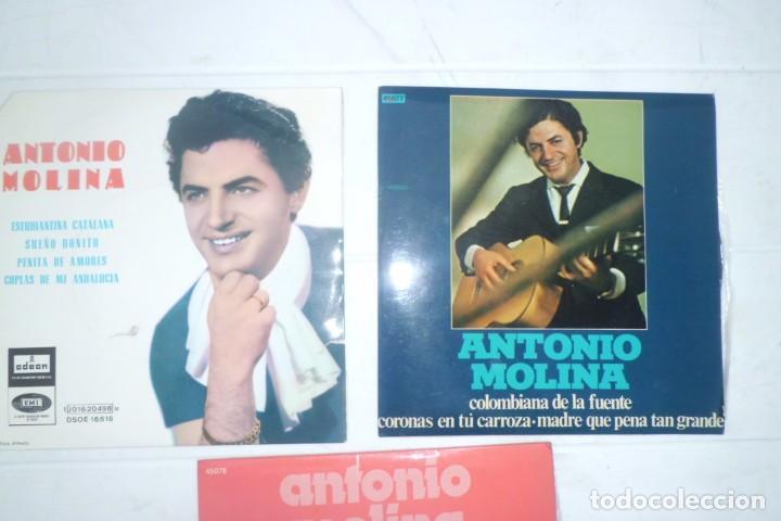 Discos de vinilo: LOTE DE DISCOS DE ANTONIO MOLINA, AÑOS 60 - Foto 2 - 194085722
