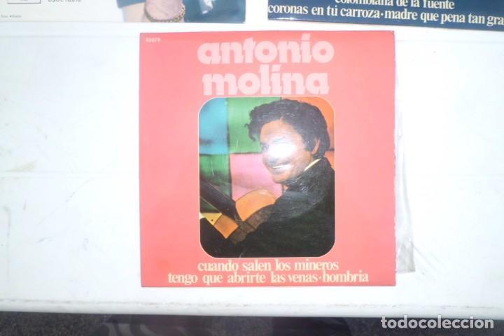 Discos de vinilo: LOTE DE DISCOS DE ANTONIO MOLINA, AÑOS 60 - Foto 3 - 194085722