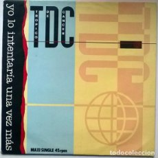 Discos de vinilo: TROPICO DE CANCER TDC. YO LO INTENTARÍA UNA VEZ MÁS. VIRGIN, SPAIN 1984 MAXI-LP. Lote 194088180