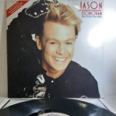 Discos de vinilo: JASON DONOVAN. BTWEEN THE LINE. EPIC. SPAIN. Lote 194090045