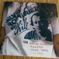Discos de vinilo: 3 LPS SILVIO RODRÍGUEZ EN CHILE - CON CHUCHO VALDES, IRAKERE, ISABEL PARRA Y OTOS GRUPOS . Lote 194090155
