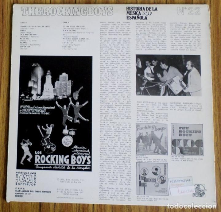 Discos de vinilo: The rocking boys - Vol 3 - Foto 2 - 194091630