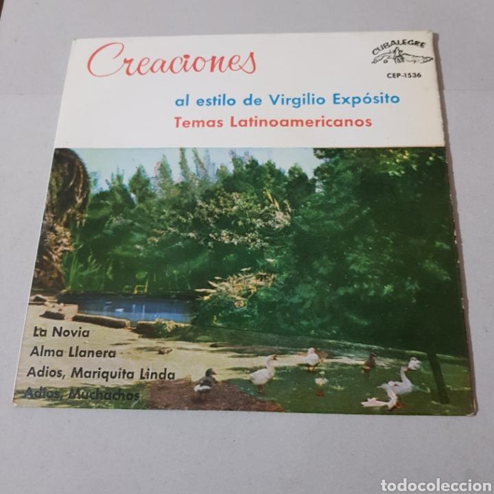 Discos de vinilo: CREACIONES AL ESTILO DE VIRGILIO EXPOSITO TEMAS LATINOAMERICANOS- LA NOVIA - ALMA LLANERA ... - Foto 5 - 194094000