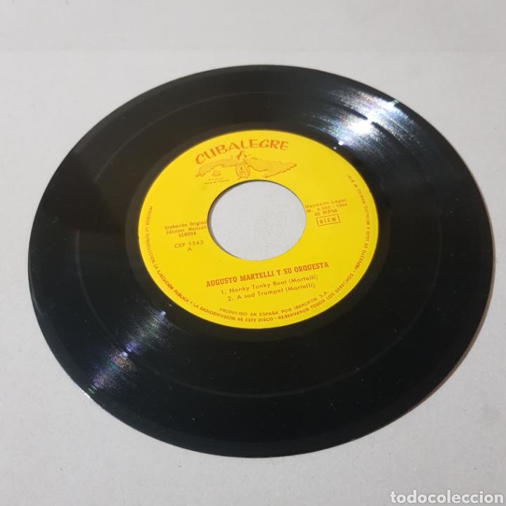 Discos de vinilo: AUGUSTO MARTINELLI - HONKY TONKY BEAT - A SAD TRUMOET - ROCKIN IN SWING - FEELIN 1964 - Foto 5 - 194094937