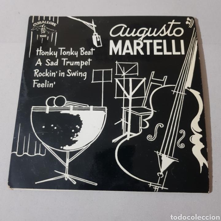 Discos de vinilo: AUGUSTO MARTINELLI - HONKY TONKY BEAT - A SAD TRUMOET - ROCKIN IN SWING - FEELIN 1964 - Foto 6 - 194094937