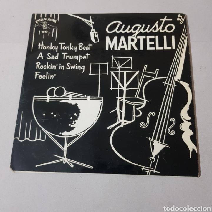 AUGUSTO MARTINELLI - HONKY TONKY BEAT - A SAD TRUMOET - ROCKIN' IN SWING - FEELIN 1964 (Música - Discos - Singles Vinilo - Otros estilos)