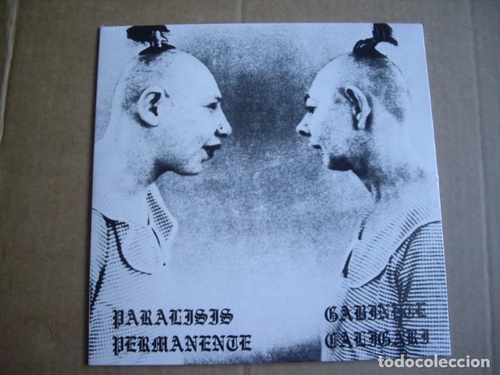 PARALISIS PERMANENTE GABINETE CALIGARI EP AUTOSUFICIENCIA+3 PROMO MUY LIMITADO 2019 (Música - Discos - Singles Vinilo - Grupos Españoles de los 70 y 80)