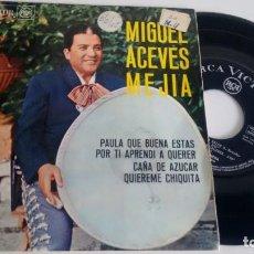 Discos de vinilo: E P ( VINILO) DE MIGUEL ACEVES MEJIA AÑOS 60. Lote 194100797