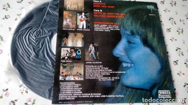 Discos de vinilo: MAXISINGLE ( VINILO) DE IMPREVISIBLES AÑOS 80 EDICIÓN LIMITADA Y NUMERADA - Foto 2 - 194101103