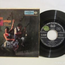 Discos de vinilo: CARLOS MONTOYA - FIESTA FLAMENCA VOL.2 - BULERIAS +3 - EP - 1959 - RCA - SPAIN - VG/VG. Lote 194101912