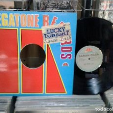 Discos de vinilo: LMV - SARAH DASH. LUCKY TONIGHT. MEGATONE RECORDS 1983, REF. MT-112. Lote 194105573