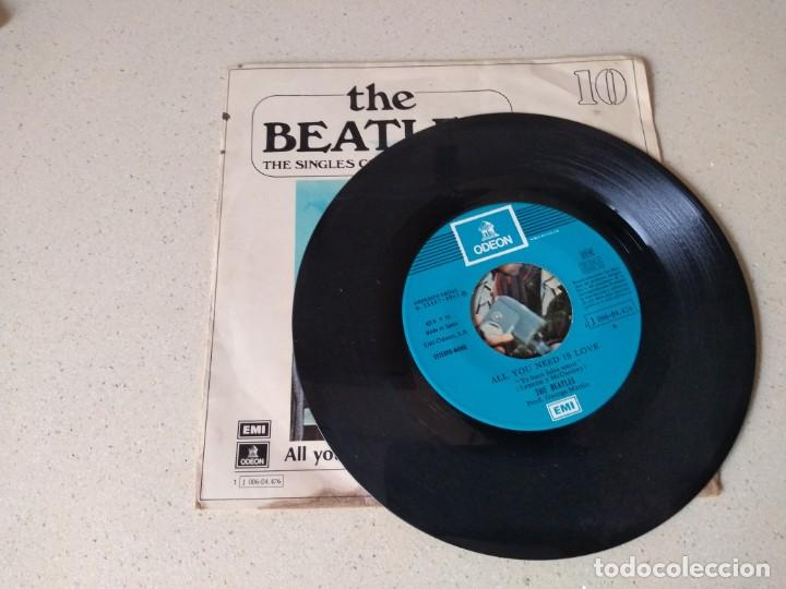 Discos de vinilo: Disco vinilo The Beatles . All you need is love año 1967 - Foto 2 - 194106088