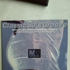 Discos de vinilo: CLASSIC 80´S GROOVE MASTERCUTS VOL I - VARIOS ARTISTAS 2 LPS GATEFOLD. Lote 194114066