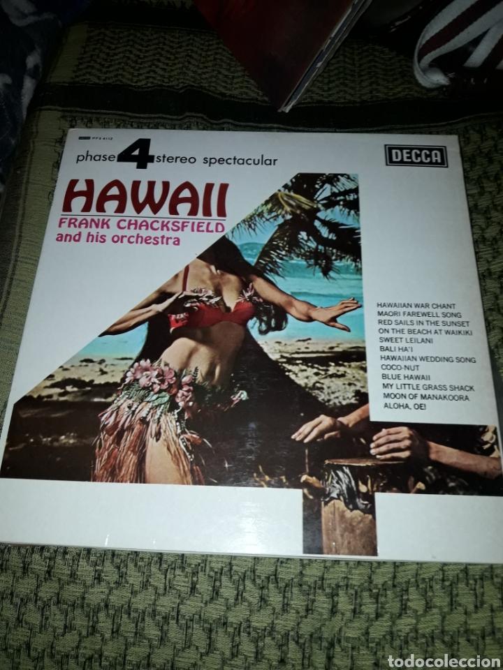 FRANK CHACKSFIELD. HAWAII. EDICION COLUMBIA DE 1976. (Música - Discos - LP Vinilo - Orquestas)