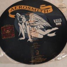 Discos de vinilo: AEROSMITH -ANGEL- (1987) MAXI-SINGLE . Lote 194118551