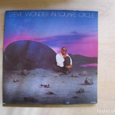 Discos de vinilo: STEVIE WONDER. IN SQUARE CIRCLE. GATEFOLD. MOTOWN, SPL1-60223. ESPAÑA, 1985.. Lote 194120463