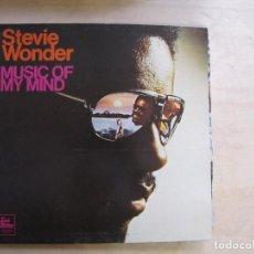 Discos de vinilo: STEVIE WONDER. MUSIC OF MY MIND. GATEFOLD. TMOTOWN, STMA-8002. USA, 1972. FUNDA VG++. DISCO VG++.. Lote 194120726
