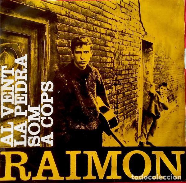 RAIMON - AL VENT + 3 TEMAS - EP SPAIN 1963 (Música - Discos de Vinilo - EPs - Cantautores Españoles)