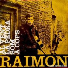 Discos de vinilo: RAIMON - AL VENT + 3 TEMAS - EP SPAIN 1963. Lote 194121130