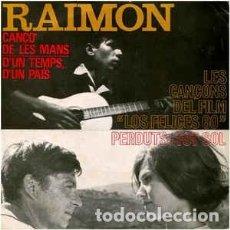 Discos de vinilo: RAIMON– CANTA LES SEVES CANÇONS (III) - EP SPAIN 1964. Lote 194121580