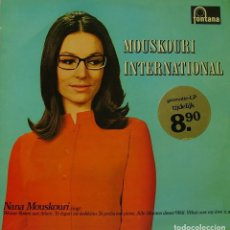 Discos de vinilo: NANA MOUSKOURI - MOUSKOURI INTERNATIONAL LP HOLLAN. Lote 194122483