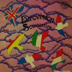 Discos de vinilo: EUROVISION SOUVENIR - LP RECOPILATORIO CON TEMAS DE EUROVISION EDITADO EN HOLANDA. Lote 194122587