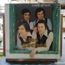 Discos de vinilo: LOS GACHÓS - AMOR GITANO - LP. DEL SELLO PHILIPS 1976. Lote 194122801