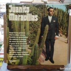 Discos de vinilo: JUANITO MARAVILLAS - COMO FIERAS PELEARON, VIVA LA MUJER MORENA, LA FLOR Y LA NATA - LP. BELTER 1974. Lote 194123053