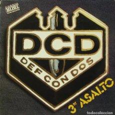 Discos de vinilo: DEF CON DOS - TERCER ASALTO LP + INSERT SPAIN 1991. Lote 194123920