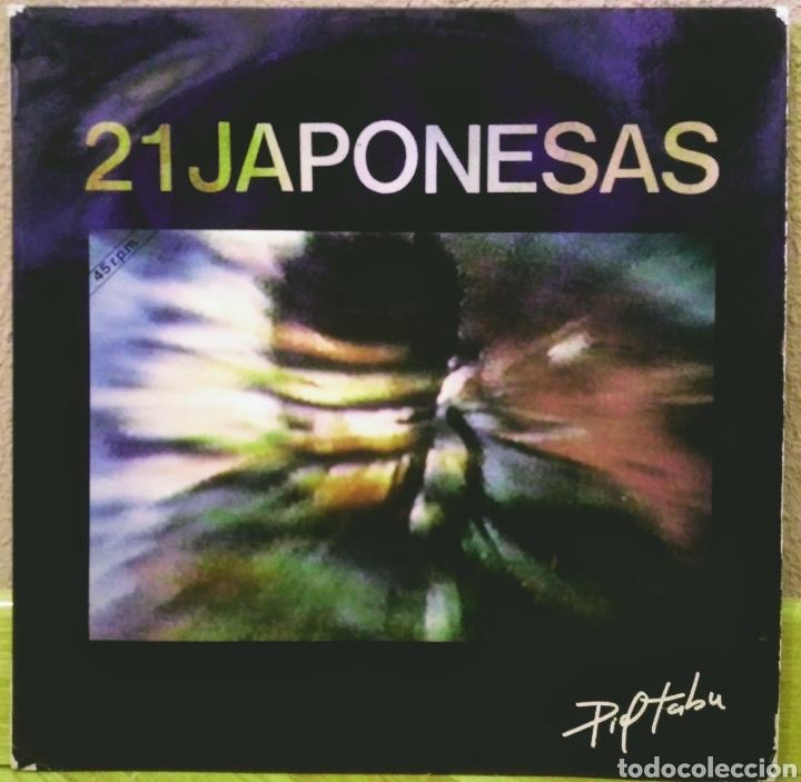 21 JAPONESAS - PIEL TABÚ MX NOLA 1988 (Música - Discos de Vinilo - Maxi Singles - Grupos Españoles de los 70 y 80)