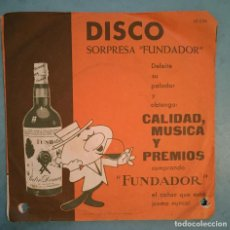 Discos de vinilo: EXITOS DE ULTIMA HORA - JOHNNIE SELL/FREDDY BIRD/LOU PETER/HARRY BOONE - FUNDADOR - 1962. Lote 194124353