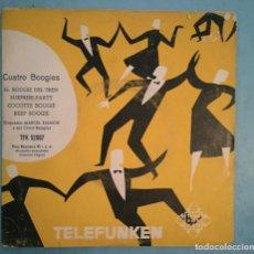 Discos de vinilo: MARCEL BIANCHI AVEC LES CINQ BOOGIES - CUATRO BOOGIES - HISPAVOX/TELEFUNKEN - 1956. Lote 194125203