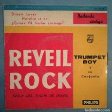 Discos de vinilo: TRUMPET BOY SU CONJUNTO - REVEIL ROCK - ROCK DEL TOQUE DE DIANA - PHILIPS - 1960. Lote 194125525