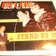 Discos de vinilo: LP BEN E. KING STAND BY ME. ALL ROUND TRADING 1987 EEC (DISCO PROBADO Y BIEN, SEMINUEVO). Lote 194126078